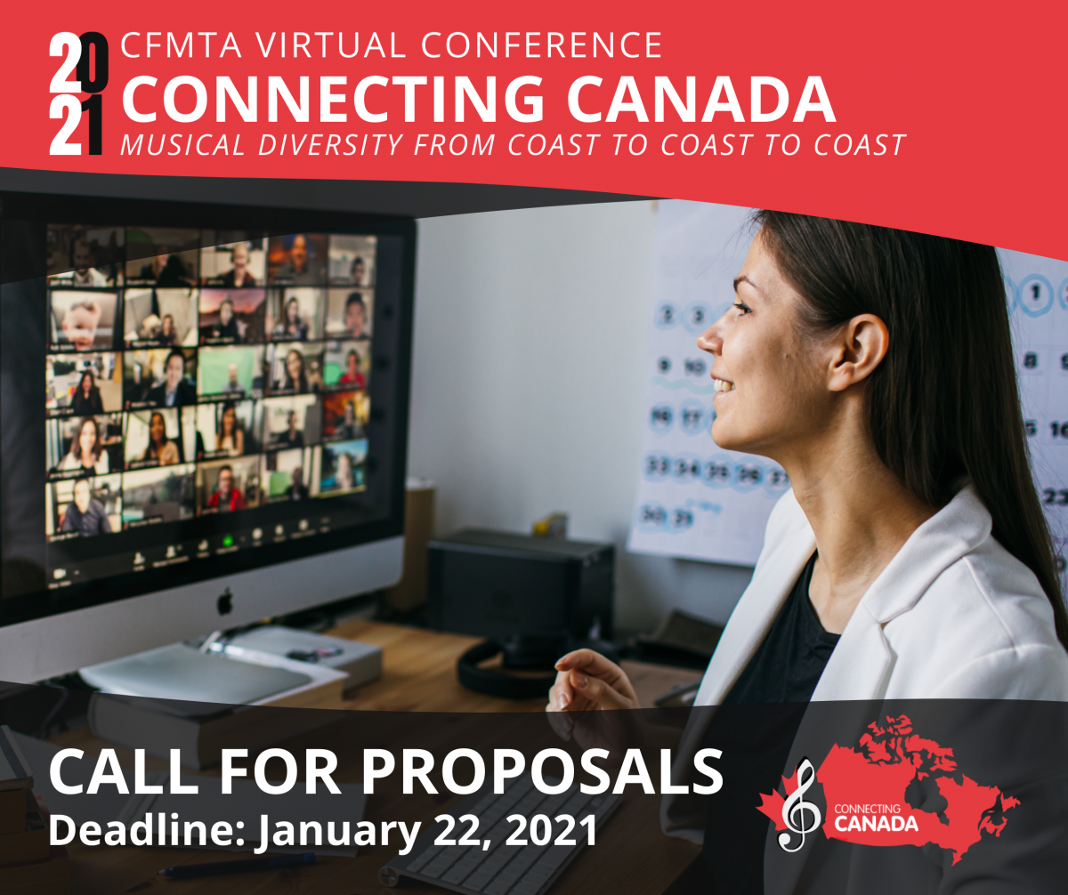 Connecting Canada Call for Proposals flyer with January 21st 2021 deadline