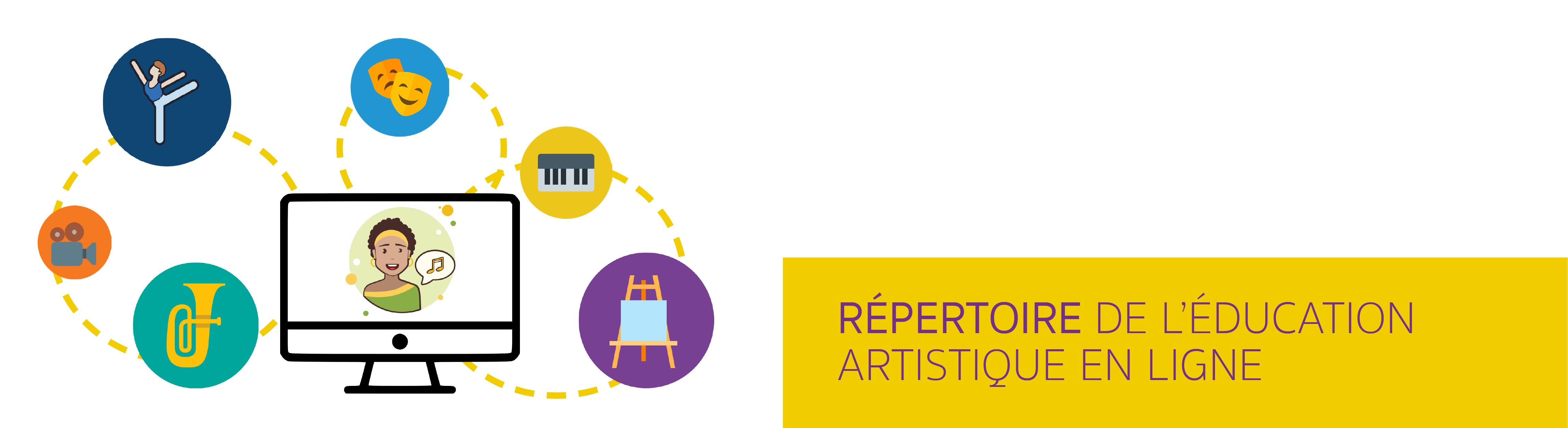 Répertoire de l'éducation artistique en ligne