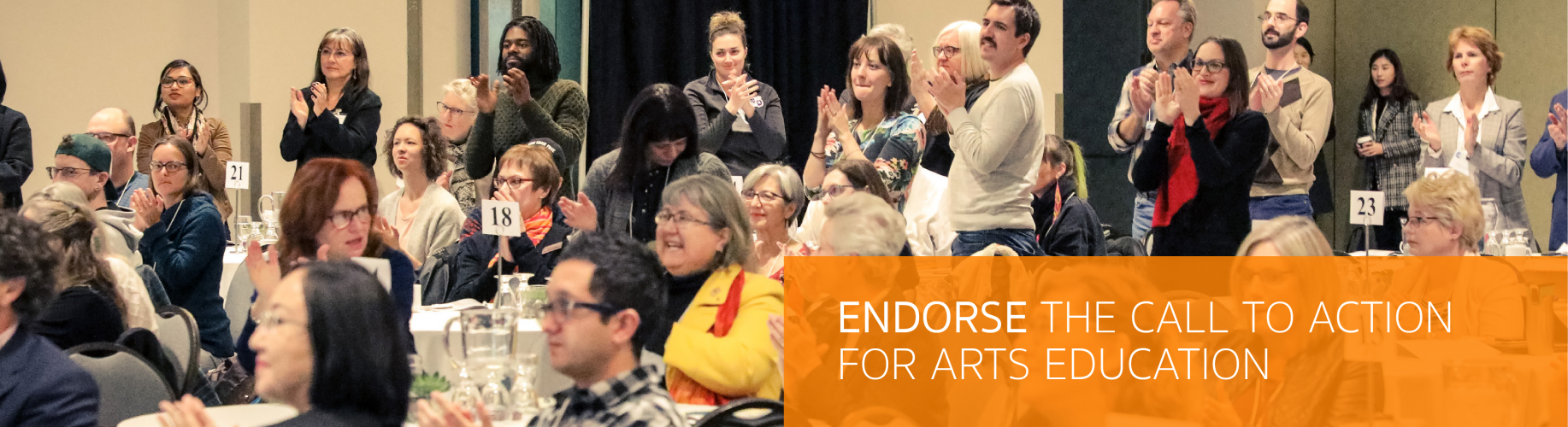 Endorse the Call to Action for Arts Education